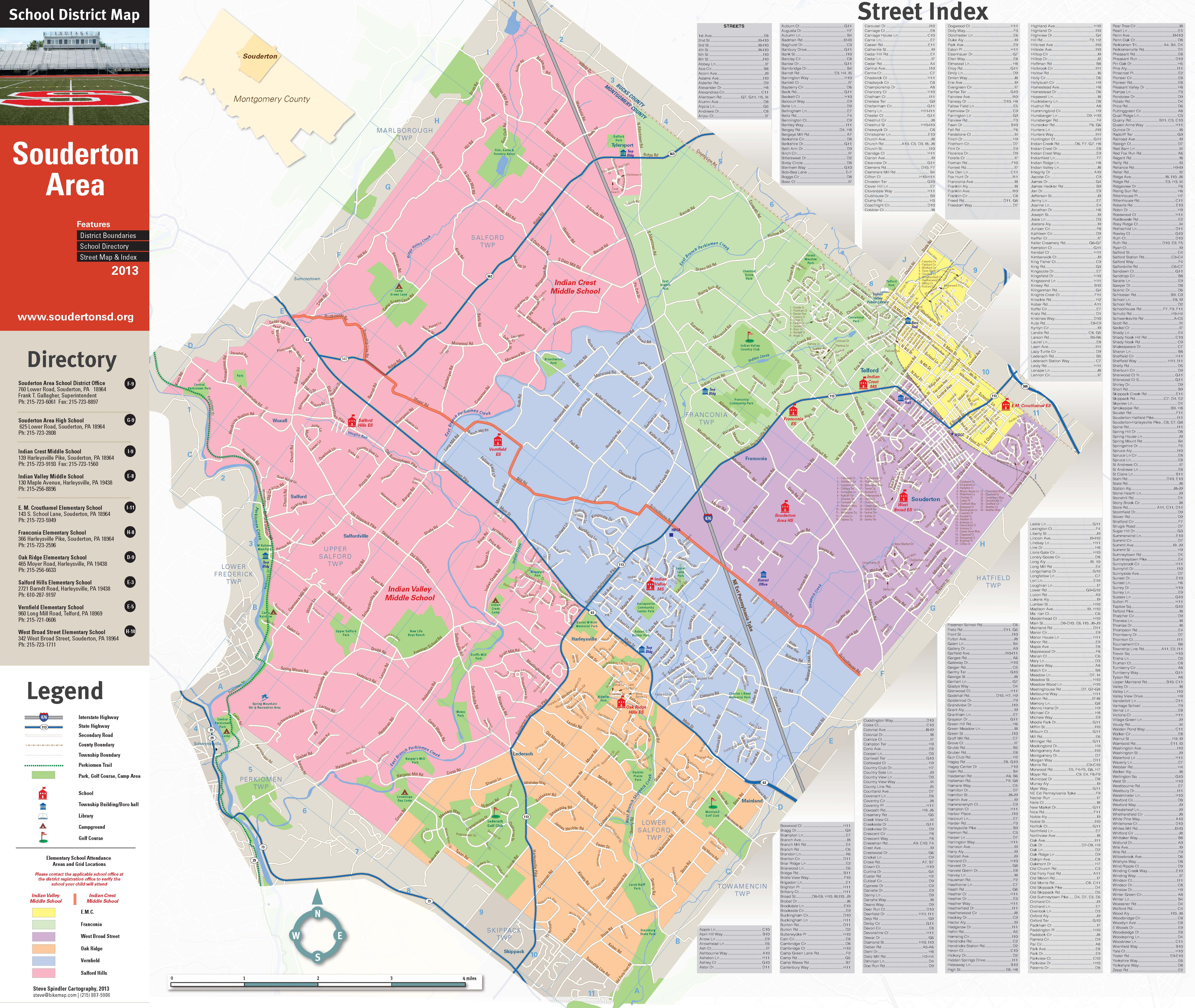 Souderton school district wikimapping souderton school district souderton map altavistaventures Gallery